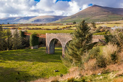 Lispole viaduct. Dingle Peninsula. Kerry. Ireland. The old Lispole viaduct. Dingle Peninsula.  county Kerry. Ireland Stock Photos