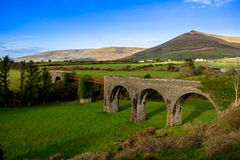 Lispole viadukt Royaltyfria Bilder