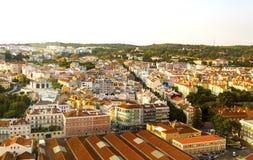 Lissabon - Alcantara-Ansicht Lizenzfreies Stockbild