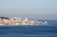 Lissabon-Ansicht Lizenzfreie Stockfotografie
