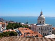 Lissabon-Ansicht Lizenzfreies Stockbild