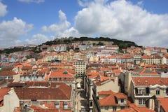 Lissabon-Ansicht lizenzfreies stockfoto