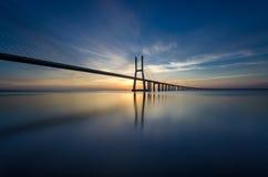 Lissabon-Ansicht Stockbild
