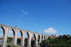 Lissabon-Aquädukt Stockfotos