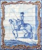 Lissabon azulejos lizenzfreie stockbilder