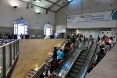 Lissabon-Bezirk, Bahnstation Lizenzfreies Stockbild