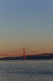 Lissabon-Brücke Lizenzfreie Stockfotografie