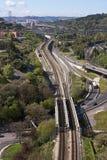 Lissabon-Brücken Lizenzfreie Stockbilder