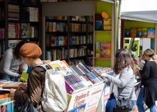 Lissabon-Buch-Messe Lizenzfreie Stockfotos