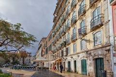 Lissabon centrum Royaltyfri Fotografi