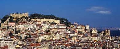 Lissabon cityscape Royaltyfri Fotografi