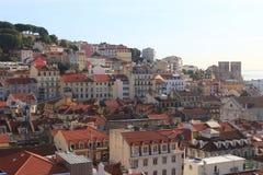Lissabon cityscape Royaltyfria Foton