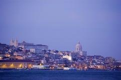 Lissabon de stad in Stock Fotografie