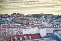 Lissabon de stad in, Portugal royalty-vrije stock foto