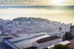 Lissabon de stad in, Portugal stock foto