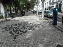 Lissabon de stad van iedereen stock afbeeldingen
