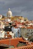 Lissabon, den huvud och största staden av Portugal Arkivfoton