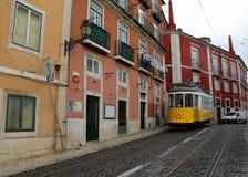 Lissabon, den huvud och största staden av Portugal Royaltyfri Bild