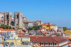 Lissabon domkyrka Fotografering för Bildbyråer