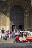 Lissabon domkyrka Arkivbild