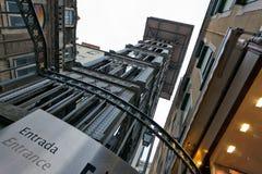 Lissabon elevador Arkivfoto