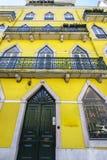 Lissabon fönster Royaltyfri Fotografi