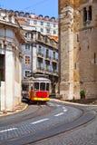 Lissabon-Förderwagen Stockfotografie