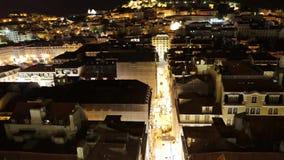 Lissabon flyg- sikt arkivfilmer
