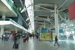 Lissabon flygplats - terminal 1 royaltyfri foto