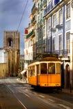Lissabon-Förderwagen Stockfoto