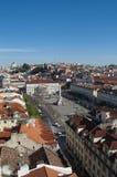 Lissabon fyrkant Arkivbilder