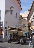 Lissabon gammal stad Arkivfoto