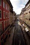 Lissabon gata arkivfoton