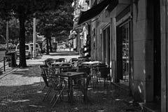 Lissabon gator Arkivbild