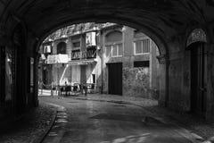 Lissabon gator Royaltyfri Fotografi