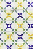 Lissabon-Gelbfliesen Stockfotografie
