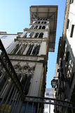 Lissabon-Höhenruder Lizenzfreies Stockfoto