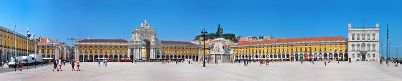 Lissabon-Handels-Quadrat Stockbilder
