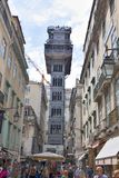 Lissabon hiss royaltyfria foton