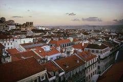 Lissabon im Stadtzentrum gelegen Lizenzfreie Stockfotografie