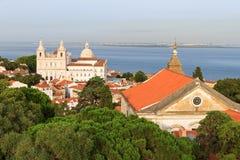 Lissabon-Kirchen Stockbilder