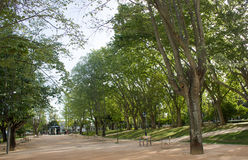 Lissabon Lissabon, gamla Lissabon, Santa Clara Park, på den Ameixoeira byn, Lissabon, Portugal Arkivfoto
