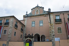 Lissabon (Lissabon), Portugal, S Pedro (Peter) von Alcântara-Palast Lizenzfreie Stockfotos