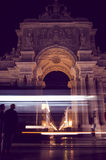 Lissabon natt Royaltyfri Foto