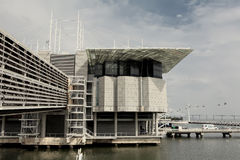 Lissabon Oceanarium Stockfotos