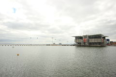 Lissabon Oceanarium Stock Foto