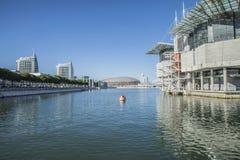 Lissabon Oceanarium Stockbild