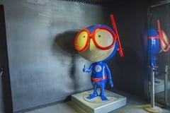 Lissabon Oceanarium, mascotte Stock Afbeelding