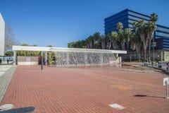 Lissabon Oceanarium, Wasserfall Lizenzfreie Stockfotos