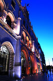 Lissabon Orient station Arkivfoto